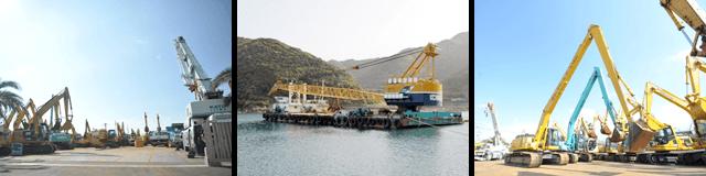 建機・船舶の写真