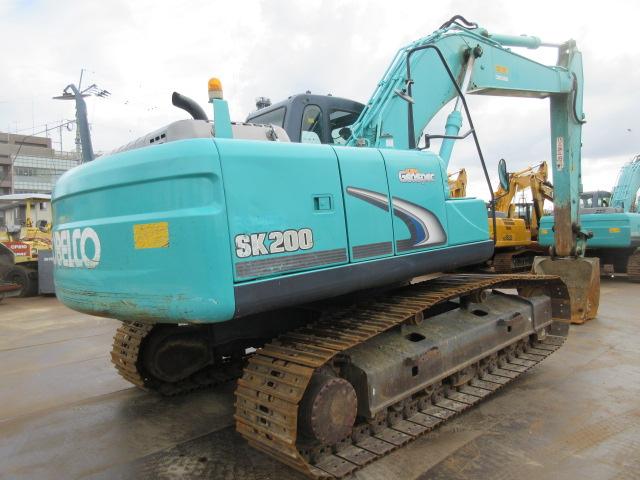 SK200-8  S/N:YN12-57500 RENTAL NOW写真