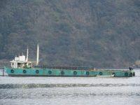 40m×15m Crane Barge写真