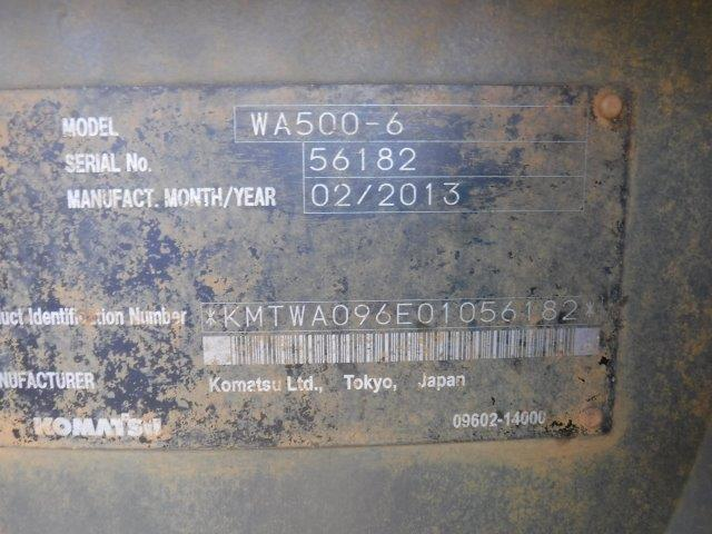 WA500-6 #56182写真