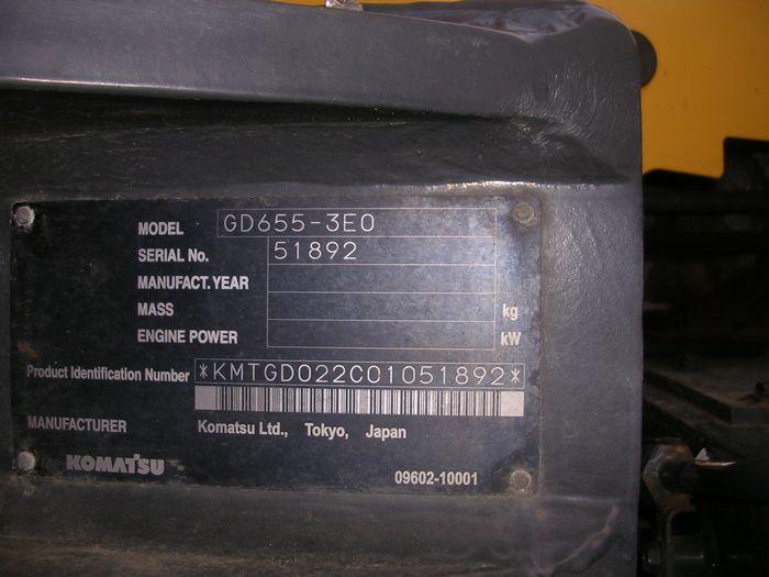 GD655-3E0  2009Y写真