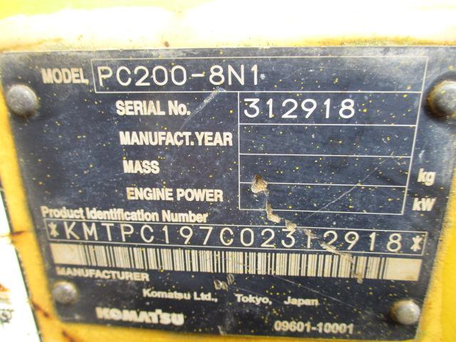 PC200-8N1 #312918写真