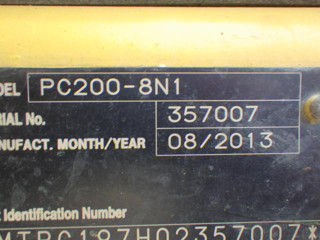 PC200-8N1 #357007写真